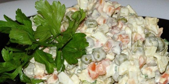 Салат оливье (классический рецепт)
