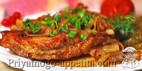 Рецепт свиной отбивной