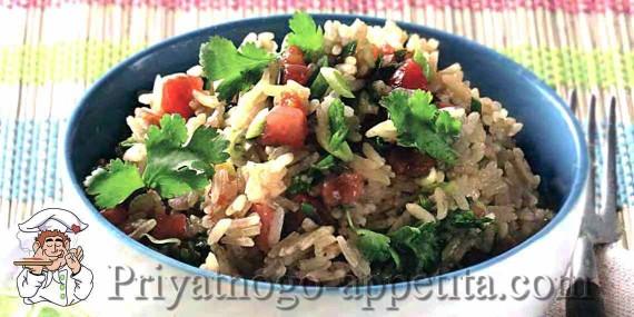 Жареный рис «по-тайски»