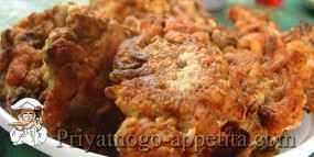 Рубленые котлеты с курицей и грибами
