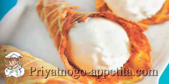 Вафли с кедровыми орехами