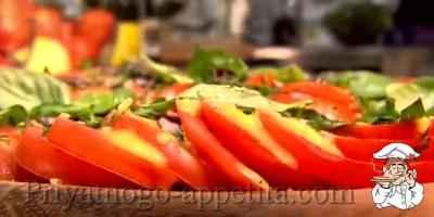 Самый вкусный салат из помидор