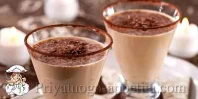Шоколадный коктейль