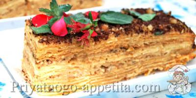 Торт Парижский коктейль