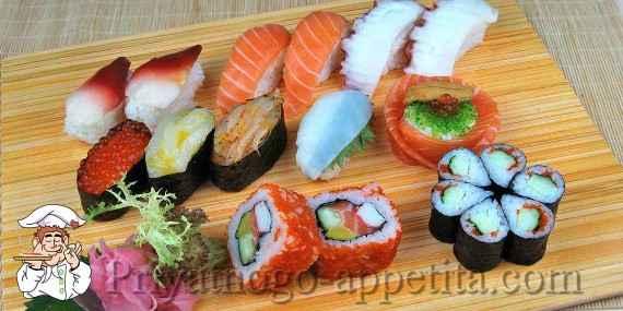 Как сделать суши