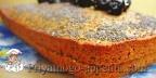 Маковый бисквит
