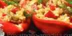 Греческий салат с баклажанами