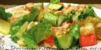 Пикантный морской салат