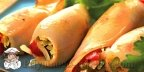 Кальмары фаршированные овощами