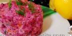 Ленивый салат под шубой