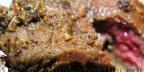 Бифштекс с орехами «Биф-фламбе»