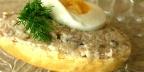 Селедочное масло с яйцами