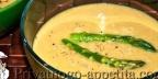 Куриный суп-пюре со спаржей