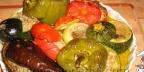 Фаршированные овощи