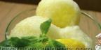 Дынно-лимонный сорбет