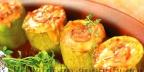 Кабачки фаршированные грибами