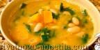 Французский куриный суп с овощами