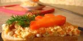 Форшмак с морковью
