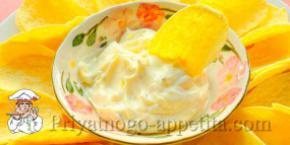 Апельсиновый майонез