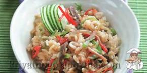 Рис с говядиной
