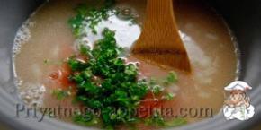 Рисовый суп с бараниной
