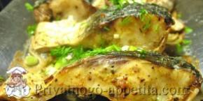 Запеченный пеленгас
