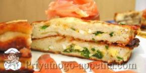 Картофельные зразы с яйцом, сыром и зеленью