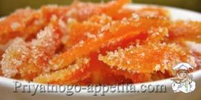 Цукаты из мандаринов
