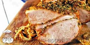 Свинина запеченная в духовке