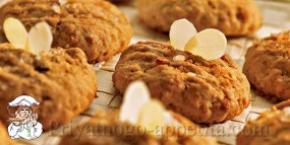 Рецепт овсяного печенья