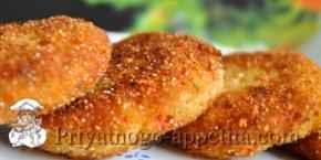 Зразы картофельные со свеклой