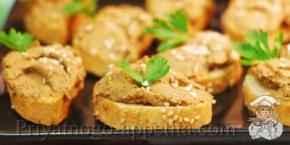 Рецепт паштета из печени