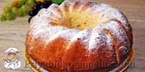 Рецепт лимонного кекса