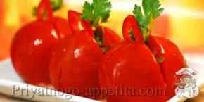 Приготовление малосольных помидор