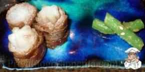 Говяжьи зразы с брюквой и кольраби