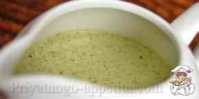 Французский сливочный соус