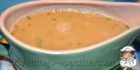 Соус из растительного масла с горчицей