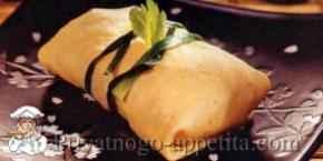 Суши в омлете