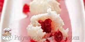 Сладкие рисовые шарики