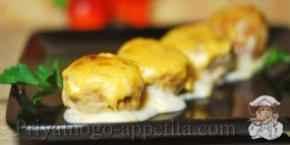 Рыбные фрикадельки в соусе
