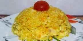 Плов из бурого риса