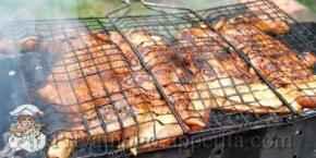 Как приготовить курицу на мангале