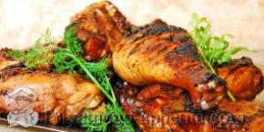 Курица в медово-соевом соусе