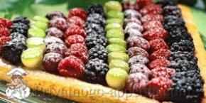 Пирог из ягод