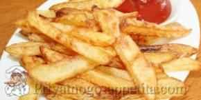 Картофель фри домашний