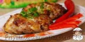 Котлеты из рубленного мяса