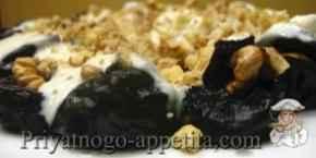 Чернослив с орехами