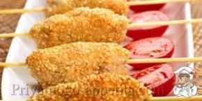 Куриные люля-кебаб